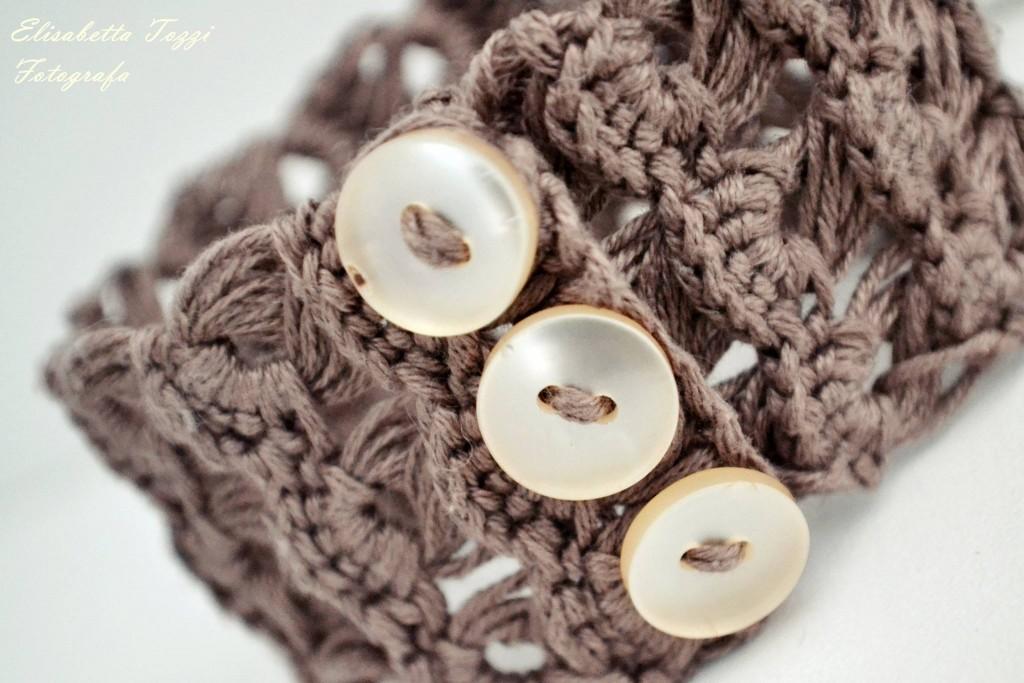 crochet bracelet fotografia