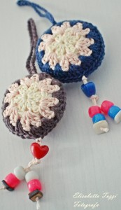 crochet keychain fotografia