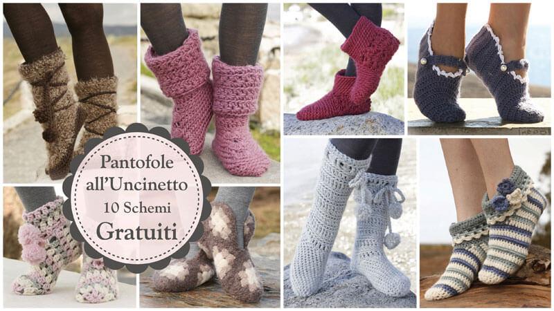 pantofole_uncinetto